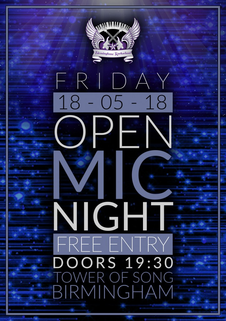 Open Mic Poster - 2