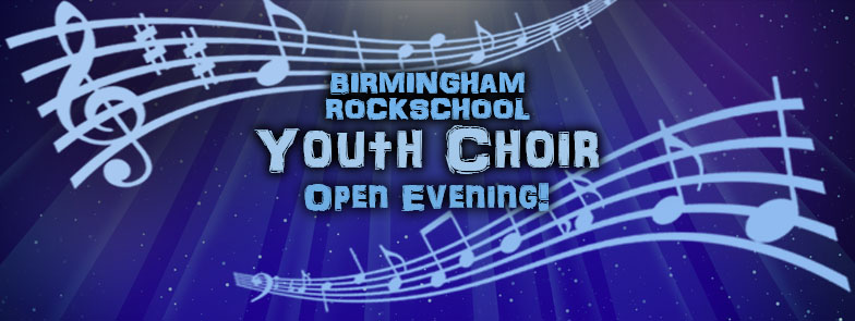 Youth Choir Open Evening Event Header