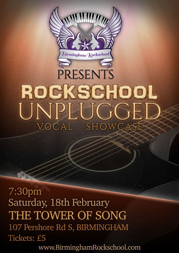 Rockschool Unplugged Poster (1)