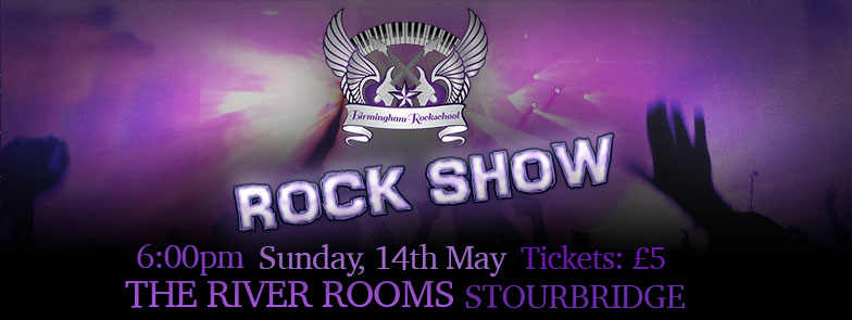 Rock Show Header - May 2017