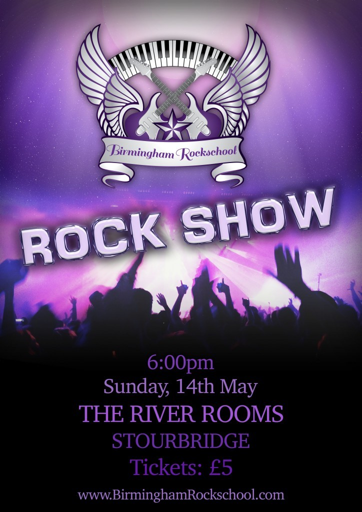 Rock Show Poster - May 2017