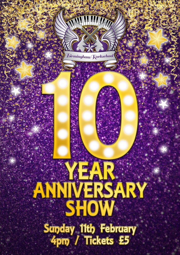 10 Year poster Mark 2