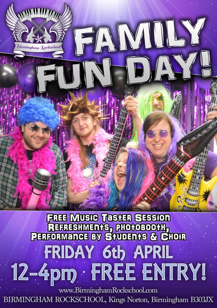 2018 Family Fun Day Poster