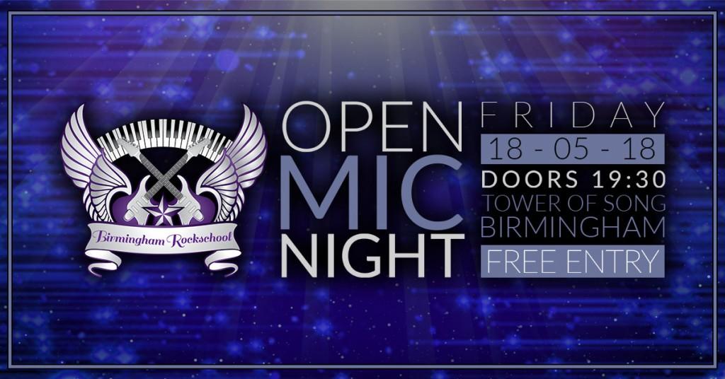 Open Mic Night - 2 Header