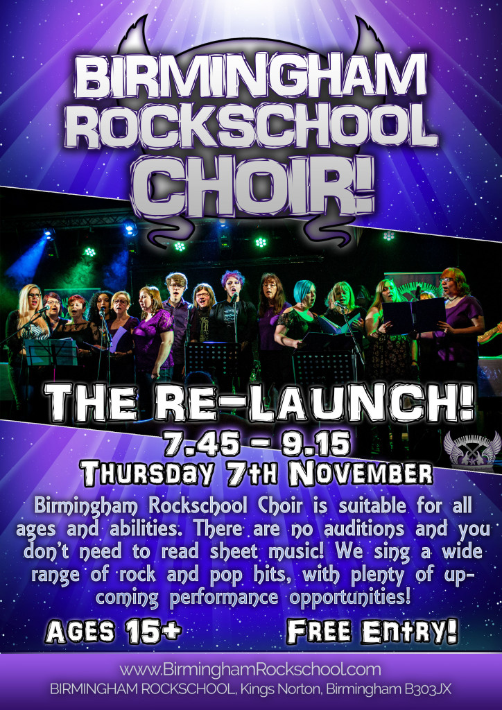 2019 Choir Relaunch